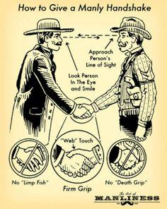 The ideal handshake