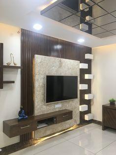 Living Room Wall Units, Living Room Tv Unit Designs, Living Room Grey, Wall Unit Designs, Tv Wall Design, Bed Design, Simple Ceiling Design, Tv Unit Interior Design, Modern Tv Wall Units