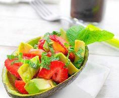 Recetas saludables: Ensalada de aguacate y fresas ¡Formará parte de tu dieta! | Adelgazar – Bajar de Peso