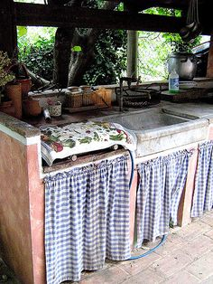 Cucina in muratura esterno cerca con google idee for Idee di casa di piano aperto