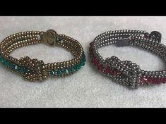 Corona Knot Bracelet - Pin This Pearl Jewelry, Beaded Jewelry, Jewelry Bracelets, Handmade Jewelry, Jewellery, Bracelet Making, Jewelry Making, Bracelet Tutorial, Beading Tutorials