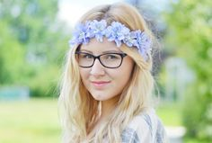 hair, girl, flowercrown, blumenhaarband, blond, viktoriasarina, curls, smile, summer, life, love