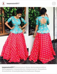 Lengha Blouse Designs, Kids Blouse Designs, Half Saree Designs, Choli Designs, Designs For Dresses, Girls Frock Design, Long Dress Design, Kids Frocks Design, Indian Fashion Dresses