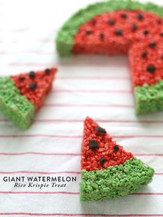 Strawberry Rice Krispie Treat - Top Pins of the Week - Country Living