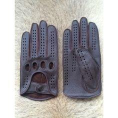 Classic Genuine Deerskin Driving Gloves