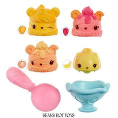 NUM NOMS Scented Starter 4-Pack Tutti Frutti Ice Cream NEW HOT TOY! #MGA