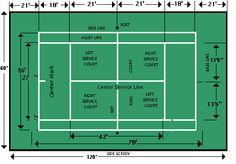 Un citystade tout m tal avec une piste 2 couloirs et un for Terrain de tennis taille