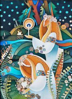 Russian Batik Art (266 pieces)