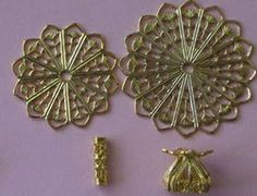 Tutorials for MANY items made from jewelry findings
