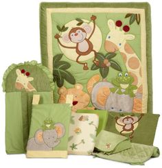 Giraffe Baby Bedding for Cribs...What is on the registry