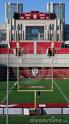 Photo about Memorial Stadium where Indiana Hoosiers, a Big Ten football team, play at IU Bloomington. Image of university, indiana, sports - 18083890 Indiana Football, Collage Football, Indiana Girl, Iu Hoosiers, Indiana University, Football Stadiums, College Campus, College Basketball, Basketball Hoop