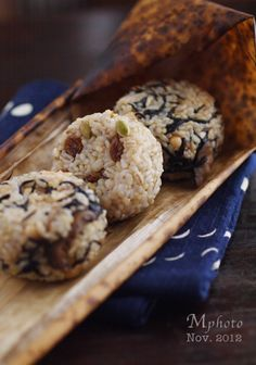 Japanese food / 玄米おにぎり(gemmai onigiri)