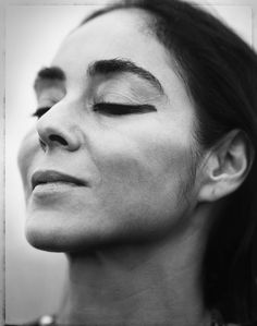 Shirin Neshat-she  is an Iranian visual artist living in New York, whose work deals primarily with issues of identity and sexuality for Muslim women.