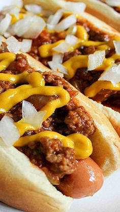 Detroit-Style Coney Dogs