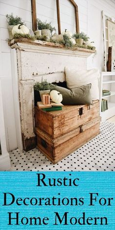 Rustic Decorations For Home Farmhouse Style Inspiration Rustic Decorations For Home Kitchens Rustic Decor, Home Kitchens, Farmhouse Style, Entryway Tables, Shabby Chic, Room Decor, Decorations, Style Inspiration, Storage