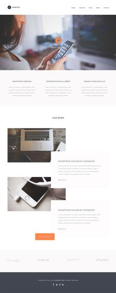 Creativs Free PSD Template