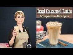 How to Make a perfect Iced Caramel Latte with the Nespresso Machine - recipe by http://www.aromacup.com