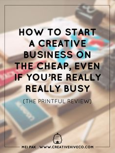 Want to start a business but don't have the money for start-up costs and room for inventory? Here's a review on the Printful and how they can help!