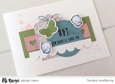 Made by Sandra: Hoi een kaartje voor jou....