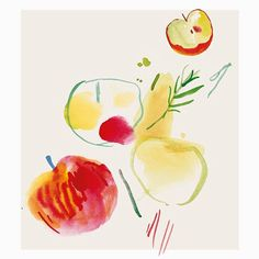 Pomes, Fruit And Veg, Cooking With Kids, Food Illustrations, Pineapple, Product Launch, Art Styles, Vegetables, Graphics