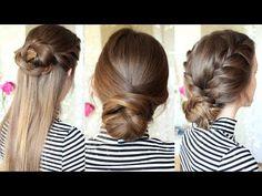 3 Easy Braided Hairstyles   Braided Updo   Braidsandstyles12 – Fashion Hair Styles