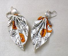Paper Earrings, Handmade Paper Jewellery www.facebook.com/elevenlife