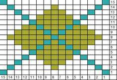 Argyle Knitting Pattern Chart : Crochet, Argyle on Pinterest 40 Pins