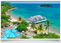 St. Lucia Beach Resort & Vacation: Halcyon Beach - Sandals St. Lucia All-Inclusive Resorts | This has the lowest price point of the St Lucia properties so it's great for honeymooners - Trips with Angie