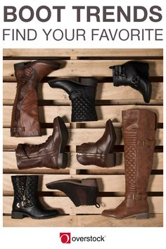 From tall and trendy to short and sweet, this line-up of women's boots has it all. Cute, comfortable, and cold-weather ready, your perfect winter boots are waiting for you to find them on Overstock.