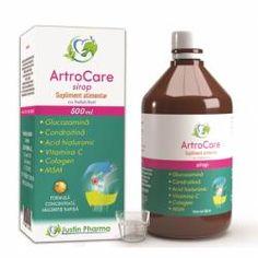 Glucozamină, acid hialuronic, condroitina și MSM, 60 tabl : Farmacia Tei online Shampoo, Personal Care, Bottle, Syrup, Self Care, Personal Hygiene, Flask, Jars