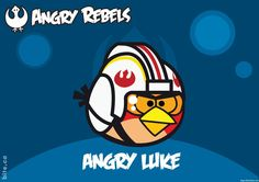 Angry Birds Star Wars Character Angry Luke Cartoon HD Wallpaper ...