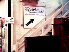 New sign downstairs in The Corbridge Antiques Centre New Sign, Centre, Stairs, Doors, Signs, Antiques, Home Decor, Antiquities, Stairway