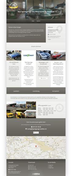 Sportgarage Roman Walther, Amriswil, Thurgau, US und Muscle Cars, Sportgarage carXpert, Neuwagen und Occasionen, Pannendienst