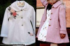 Выкройка пальто для девочки от 1 года до 14 лет (Шитье и крой)   Журнал Вдохновение Рукодельницы