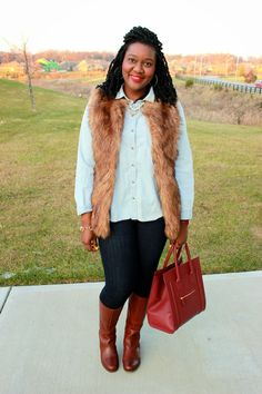 Chioma's Evolution of Style: Faux Fur + A $500 Visa Gift Card Giveaway!