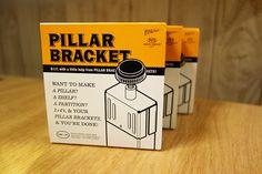 PILLAR BRACKET(ピラーブラケット)を購入しました。 ホームセンターで売っている2×4材を柱に変身できるジョイント金具です。 2×4材を「突っ張り棒」にできる便利アイテム ウェア、ザック、テント、アイゼン、シ...