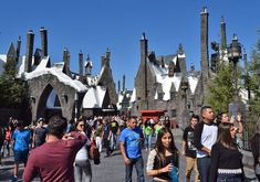Undercover Tourist takes a sneak peek at the Wizarding World of Harry Potter, opening at Universal Studios Hollywood in April.