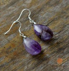 Rings and earrings – Lila's Beauty Bag Teardrop Earrings, Women's Earrings, Purple Quartz, Bohemian Jewelry, Boho, Big Jewelry, Gothic Jewelry, Jewelry Ideas, Beaded Jewelry