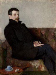 Portret Pawła Nauena, 1893.