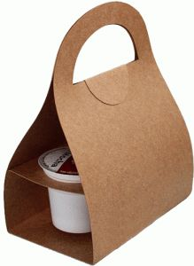 Holds 2 k-cups. Great gift for your coffee loving friends! Silhouette Design Store - View Design #59068: coffee cup treat bag