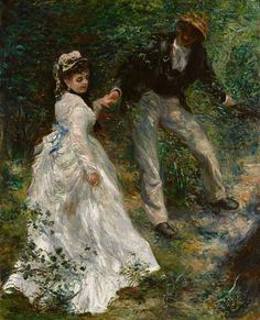Pierre-Auguste Renoir - La Promenade -1870 - by Gandalfs Gallery - Flickr