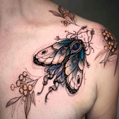Bug Tattoo, Insect Tattoo, Moth Tattoo, Tattoo On, Piercing Tattoo, Incredible Tattoos, Great Tattoos, Beautiful Tattoos, Small Tattoos
