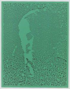 "Ellsworth Kelly, ""EK Green""; lithograph [1990] Hard Edge Painting, Ellsworth Kelly, Colour Field, Good People, Green"