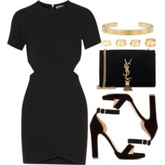 Outfits for Work - Trend Outfits for Work Fashion Komplette Outfits, Dressy Outfits, Polyvore Outfits, Stylish Outfits, Fashion Outfits, Polyvore Fashion, Mode Rockabilly, Girl Fashion, Fashion Looks