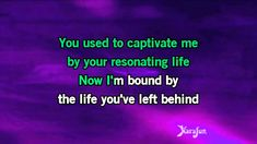 evanescence my immortal lyrics karaoke Karaoke Songs, Songs To Sing, Sugar Song Lyrics, White Rabbit Jefferson Airplane, Reiki, Inspirational Song Lyrics, My Immortal, Spirituality, Xmas
