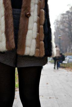 Vintage fur    www.crzcproject.com
