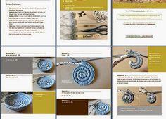 Bowl yin yang paisley shopping crochet - Crochet Patterns