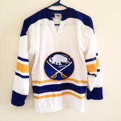 Vintage Buffalo Sabres Hockey Jersey by ThingsIBuyForYou on Etsy
