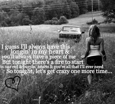 crazy one more time - kip moore