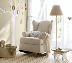 Wingback Rocker - will never be able to afford this but I love it!
